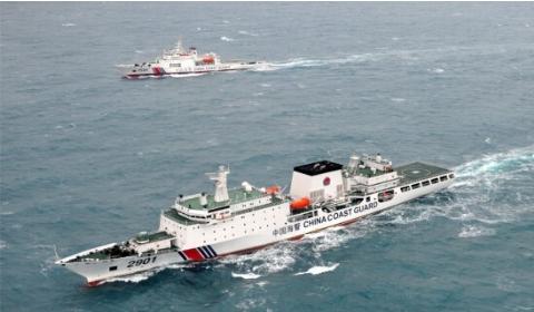 中国海警船驶入日领海 日外务省无提出抗议但日媒仍抱怀疑心态