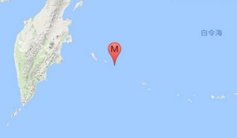 俄罗斯7.8级地震  震源深度10千米官方已发布海啸预报